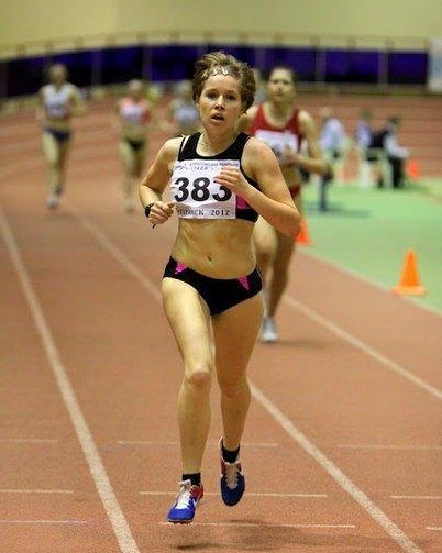 Алла Кулятина - победительница Чемпионата России по легкой атлетике