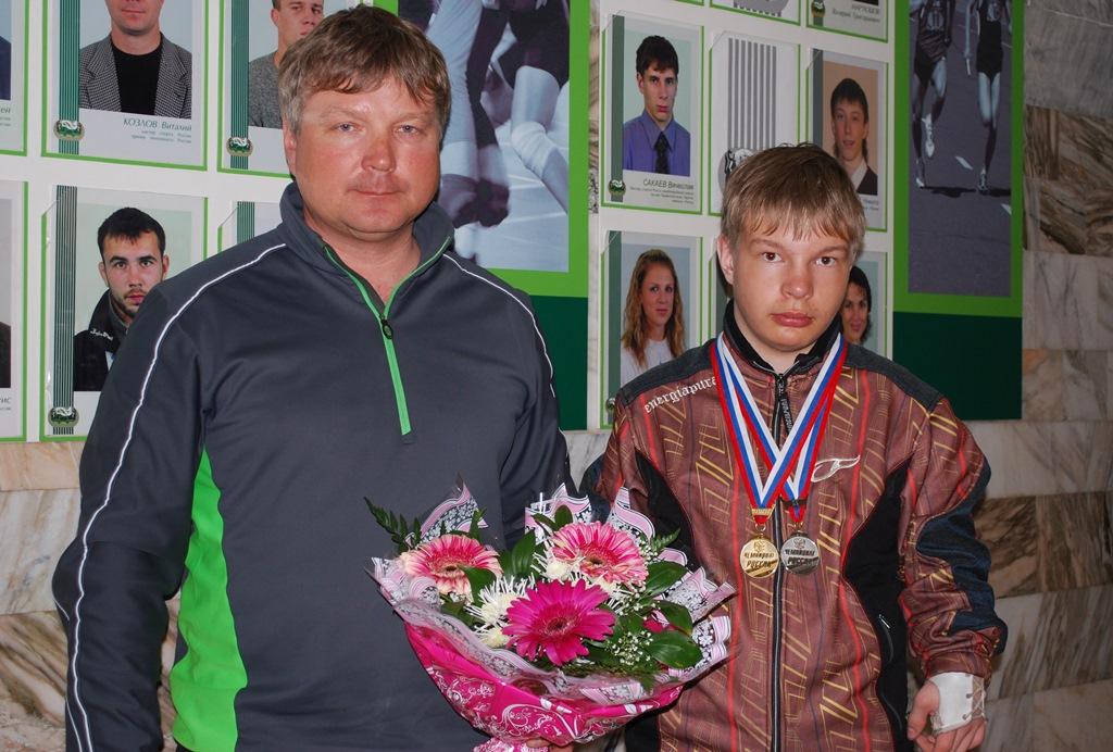 Новосибирск на Паралимпиаде в Сочи представит Александр Ветров