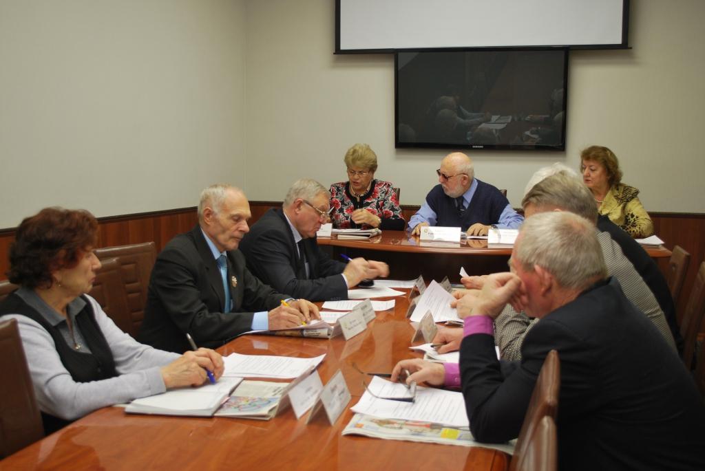 Проведено очередное заседание президиума Совета старейшин спорта города Новосибирска