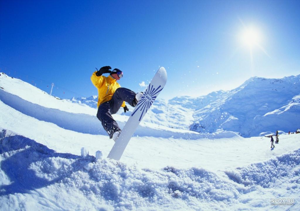 Вчера сноубордисты разыграли награды в дисциплине «слоуп-стайл»