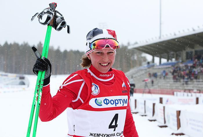 Марина Черноусова - бронзовый призер чемпионата России!