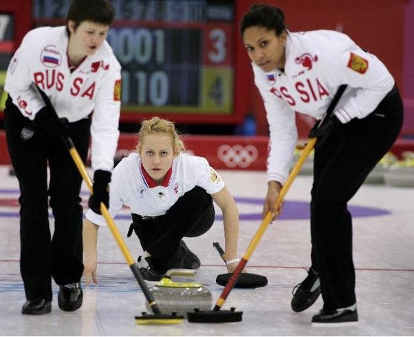 Олимпийская команда по керлингу покажет мастер-класс!