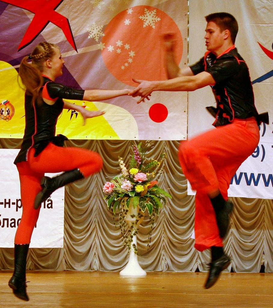 Кубок мэра по акробатическому рок-н-роллу пройдет 17 мая