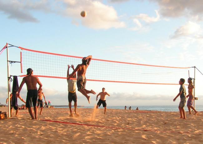 Волейболисты открывают пляжный сезон