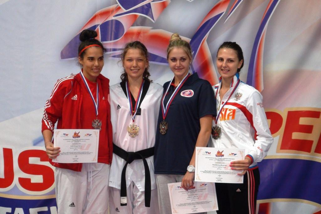 Екатерина Митрофанова завоевала бронзу международного турнира по тхэквондо ВТФ