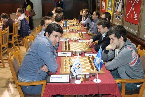 Сборная команда по шахматам «Сибирь» примет участие в Еврокубке