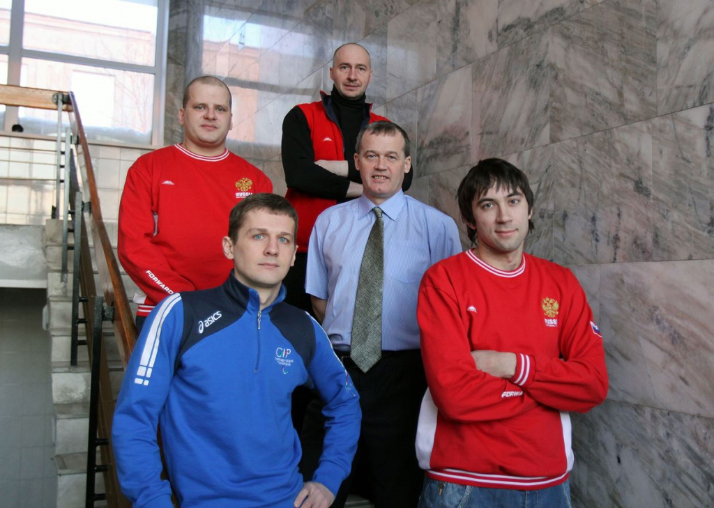 Сборная Новосибирской области по футзалу среди слабовидящих – победители чемпионата России