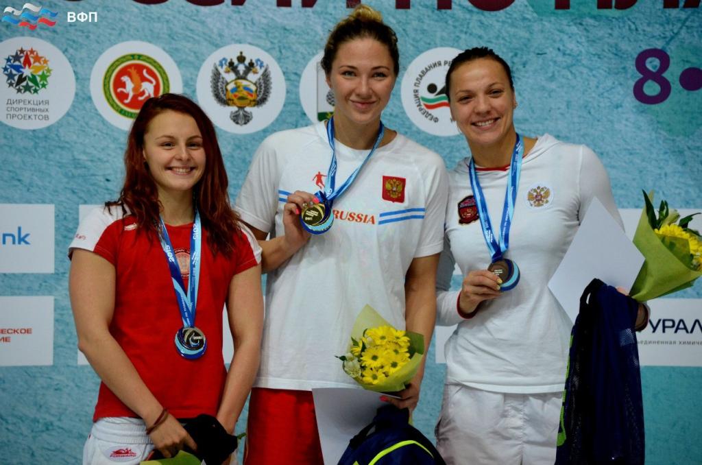 Первые медали чемпионата России по плаванию