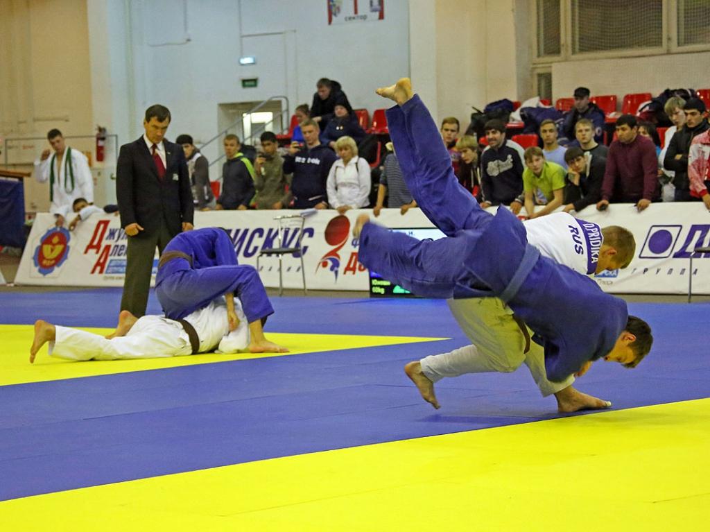 Главные призы турнира Алексея Джулая получили новосибирские дзюдоисты