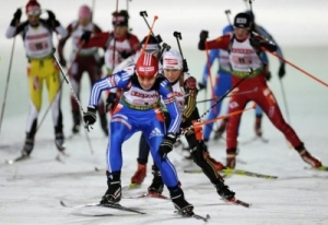 Соревнования по биатлону на призы олимпийского чемпиона Виктора Маматова!