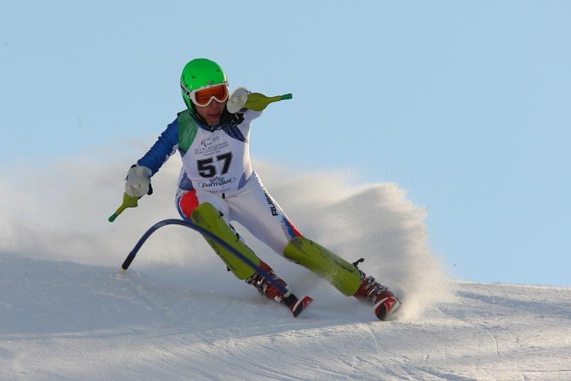 Горнолыжник Александр Ветров стал чемпионом России