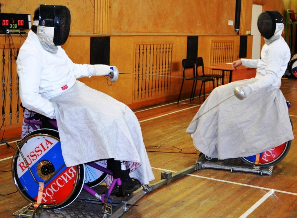 Чемпионат России по фехтованию на колясках – 2015