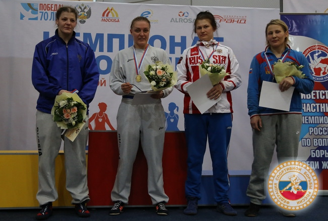 Алена Афанасьева стала призером чемпионата России по вольной борьбе