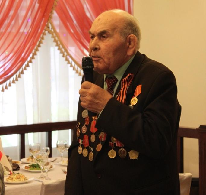 Заслуженные ветераны спорта отметили 70 юбилей Победы