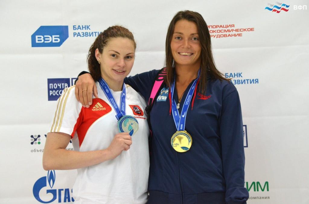 Валентина Артемьева завоевала золото Кубка России по плаванию