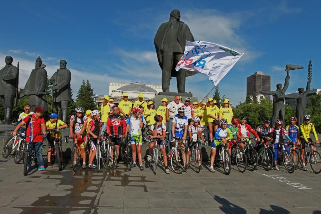 Новосибирск готовится к встрече участников международной велогонки