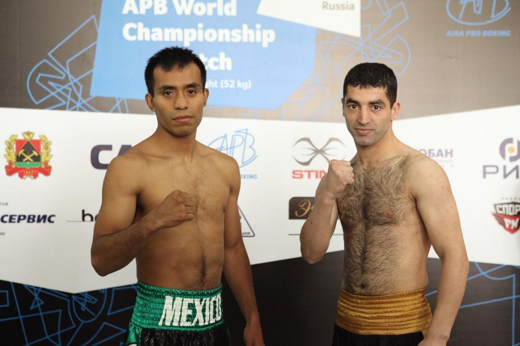 Миша Алоян победил Элиаса Эмихдио в бою за звание чемпиона AIBA Pro Boxing