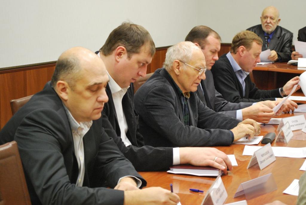 Проведено заседание экспертного Совета по итогам 2015 года