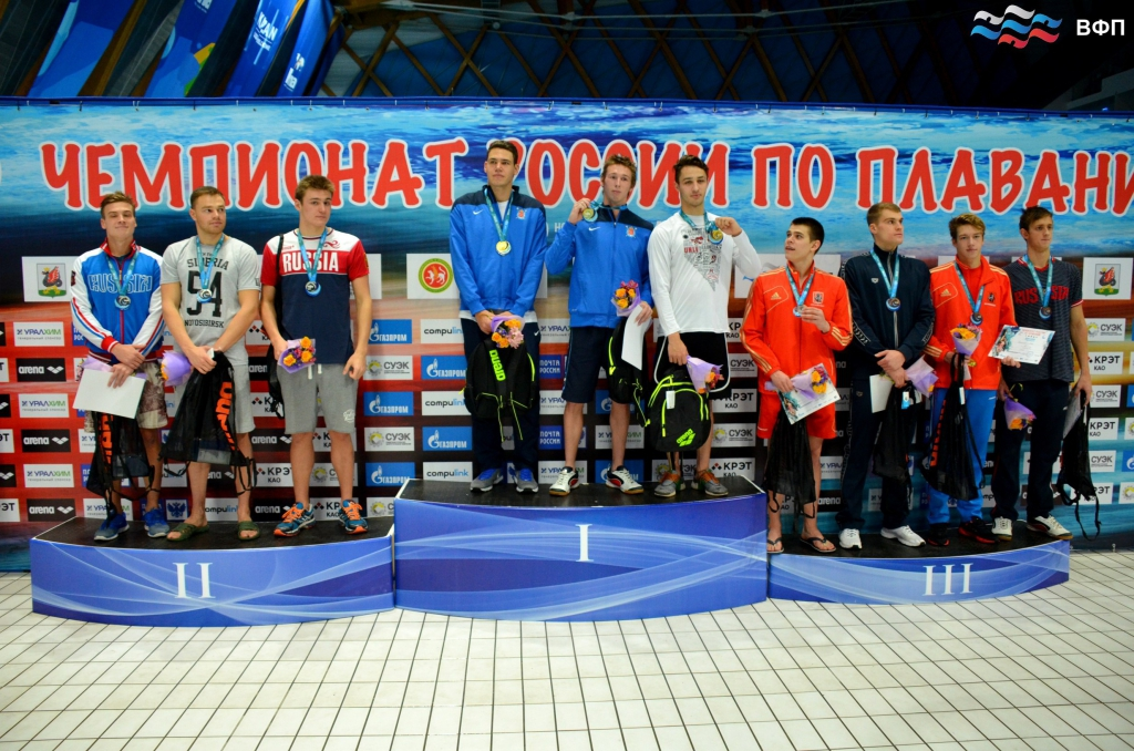 Итоги чемпионата России по плаванию в 25-метровом бассейне