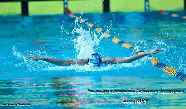 Россыпь медалей завоевали новосибирские пловцы на этапе кубке России