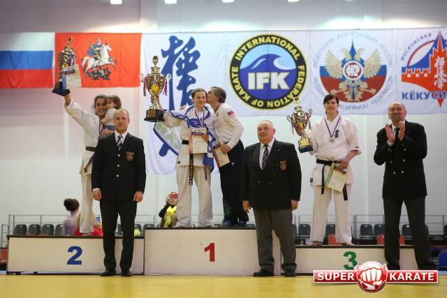 Мария Панова - бронзовый призер чемпионата России по киокусинкай!