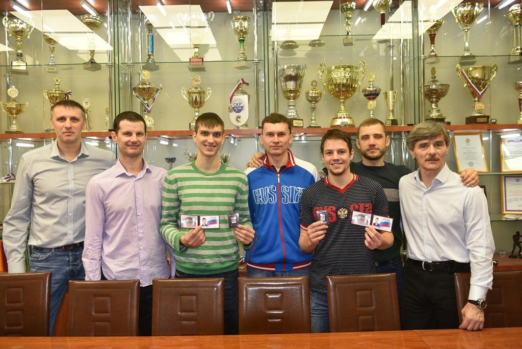Новосибирских спортсменов чествовали в НЦВСМ