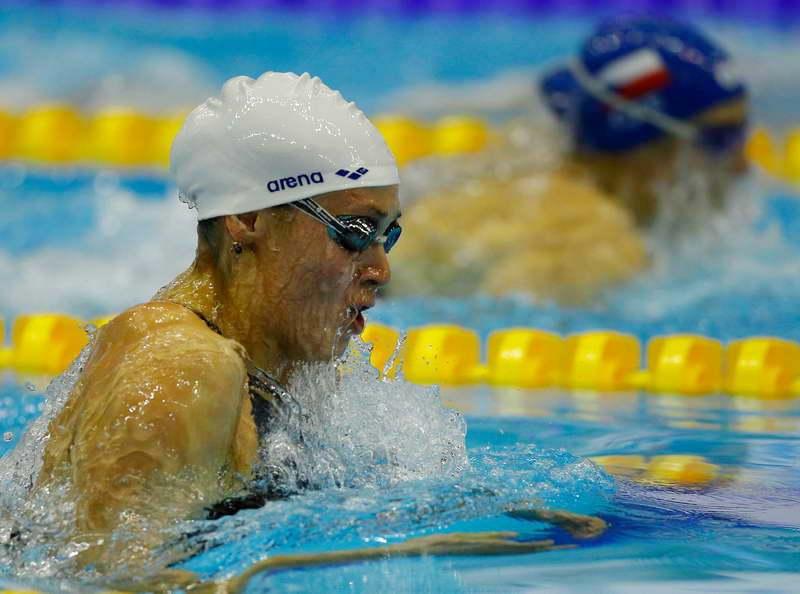Плавание: Валентина Артемьева завоевала бронзу чемпионата России!
