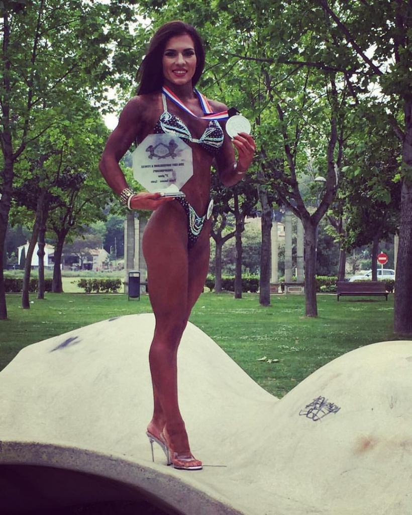 Новосибирская спортсменка стала вице-чемпионкой Европы по бодифитнесу