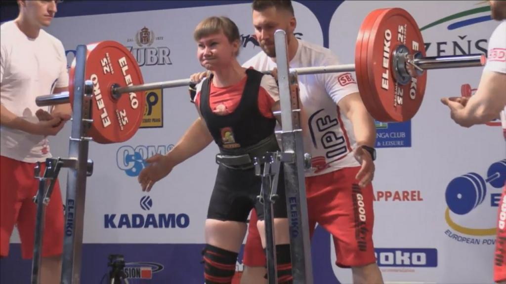 Валентина Верменюк – чемпионка Европы по пауэрлифтингу!