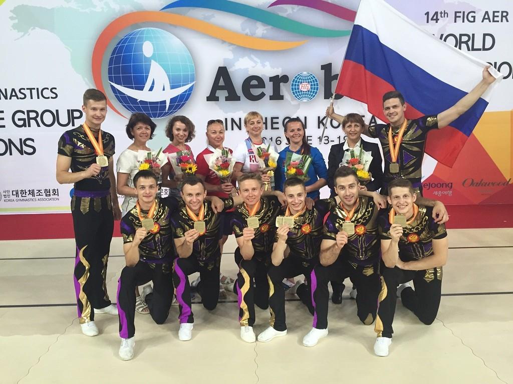 Кирилл Куликов – бронзовый призер чемпионата мира по спортивной аэробике!