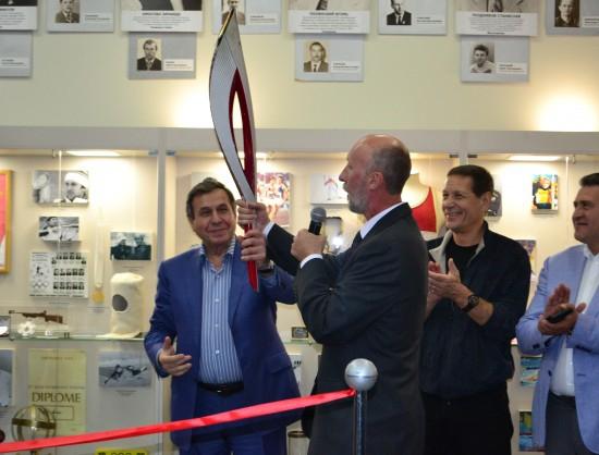 В Новосибирске открылся Музей олимпийской славы