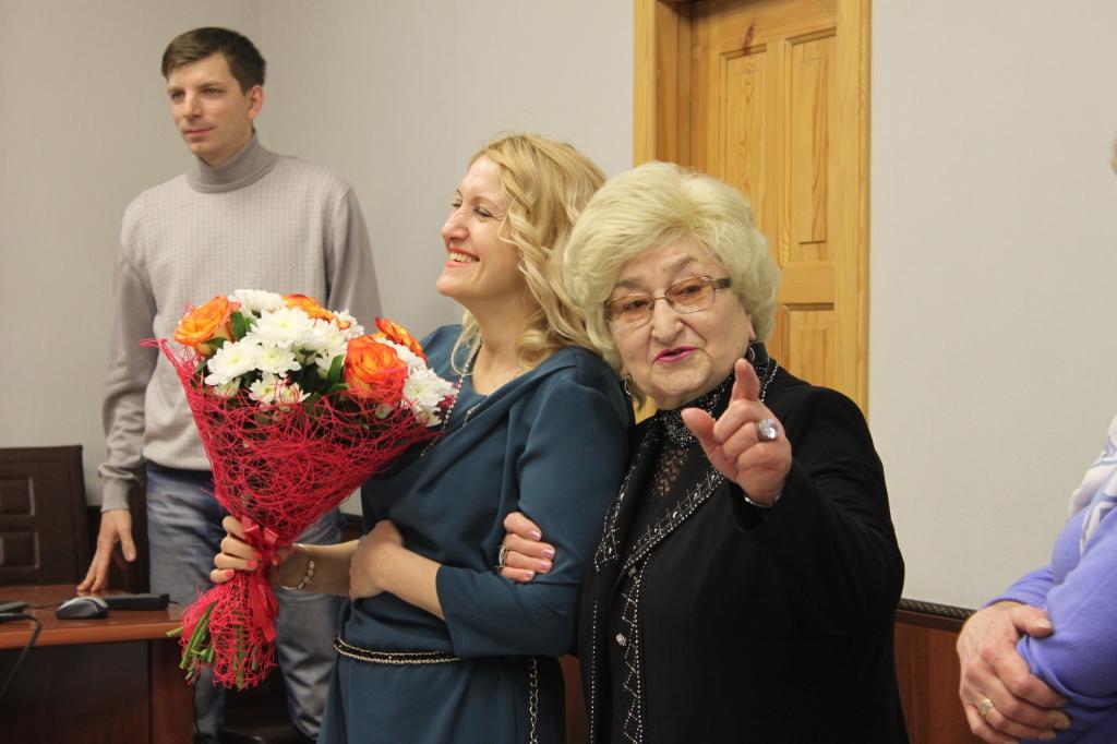 Поздравляем Лидию Георгиевну Калганову с днем рождения