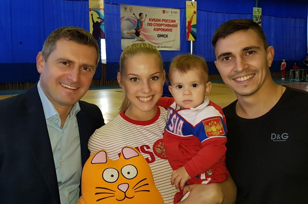 Новосибирские аэробисты покорили пьедестал Кубка России