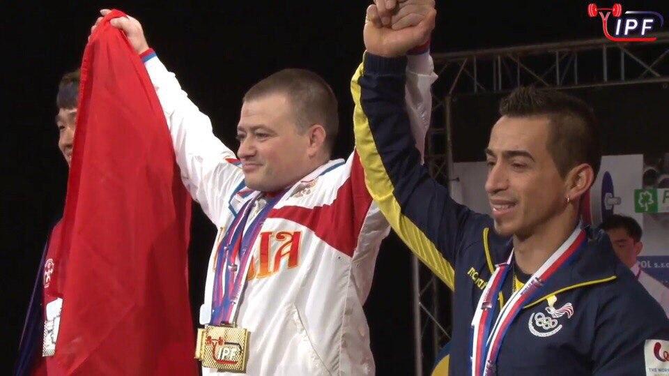 Сергей Федосиенко - 12-ти кратный чемпион мира по пауэрлифтингу