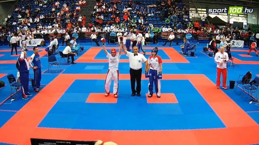 Ольга Григорьева – бронзовый призёр чемпионата мира по кикбоксингу