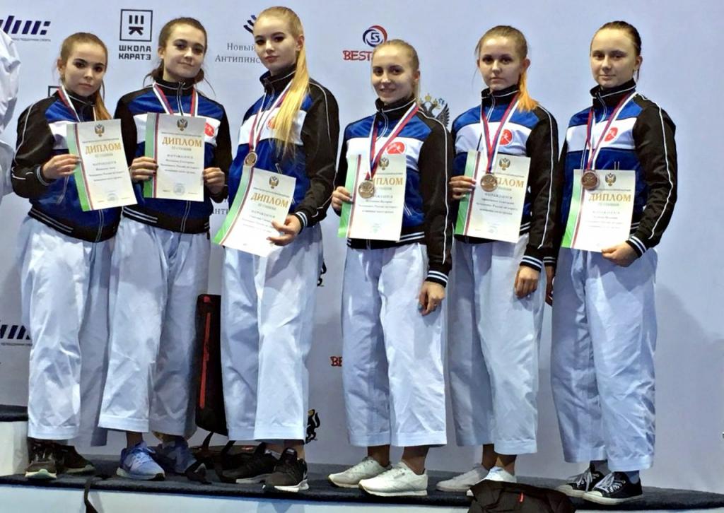 Новосибирские каратисты с триумфом выступили на чемпионате России