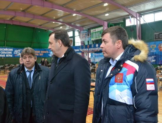 В Новосибирской области стартовали сельские спортивные игры