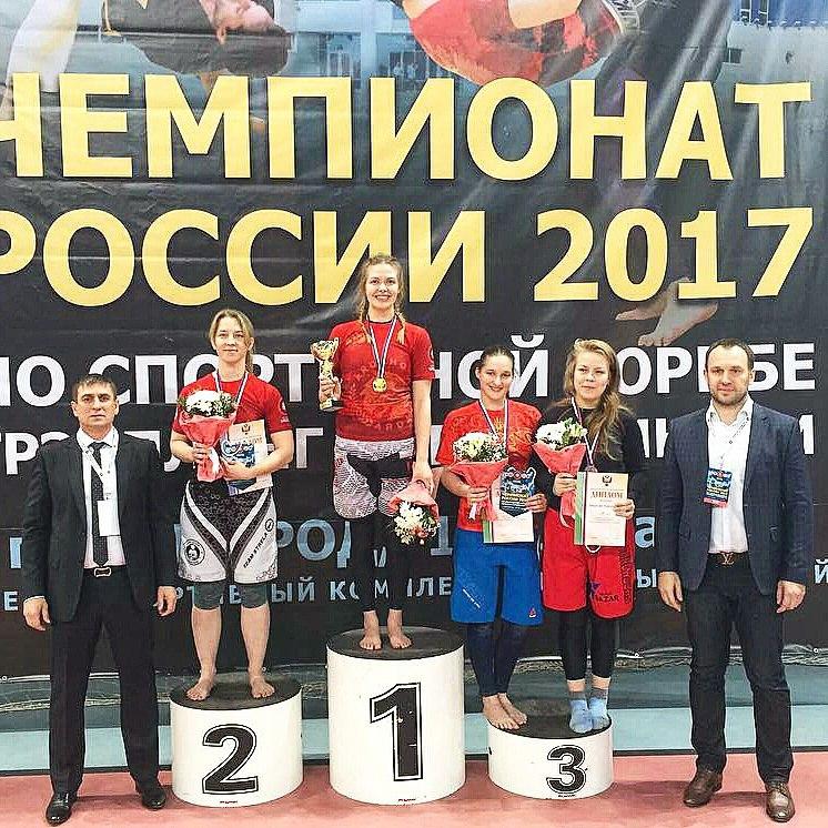 Римма Тропина в третий раз подтвердила титул чемпионки России по грэпплингу