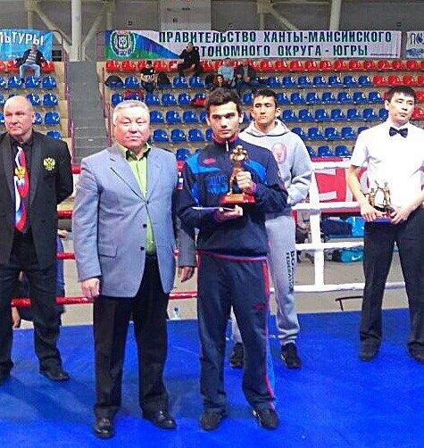 Новосибирского боксёра признали лучшим на Всероссийском турнире