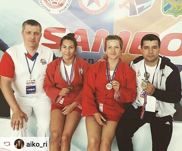 Новосибирские самбистки завоевали медали этапа Кубка мира