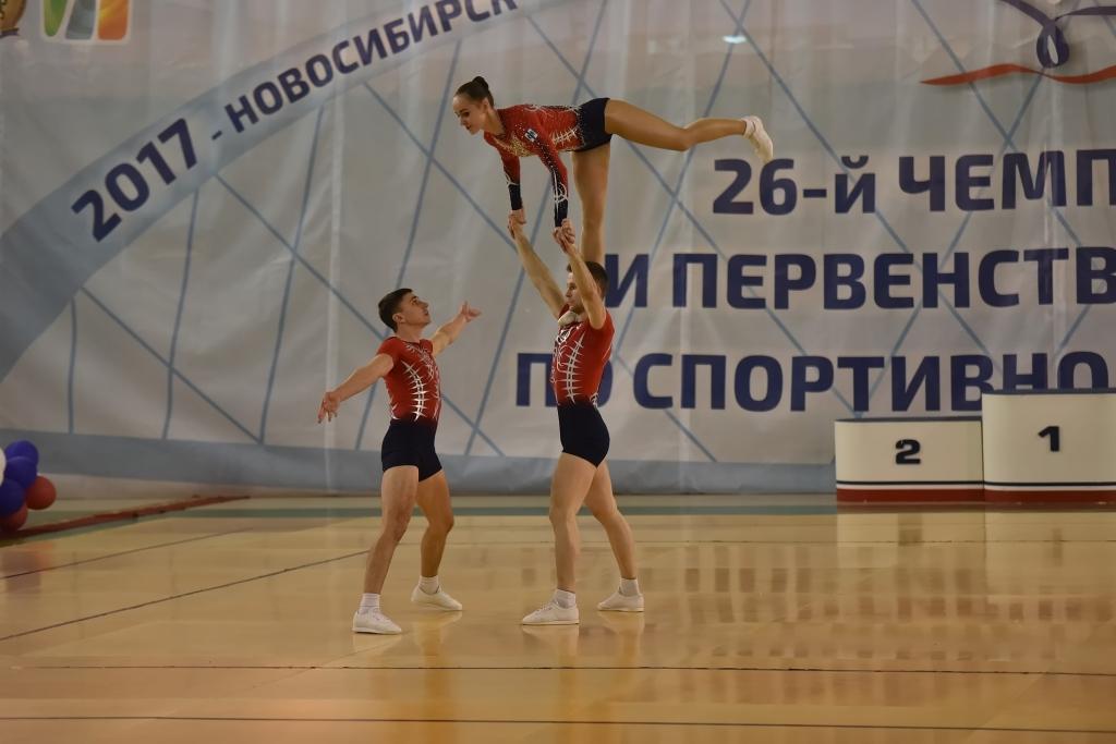 Чемпионат и первенство России по спортивной аэробике: у новосибирцев 41 медаль