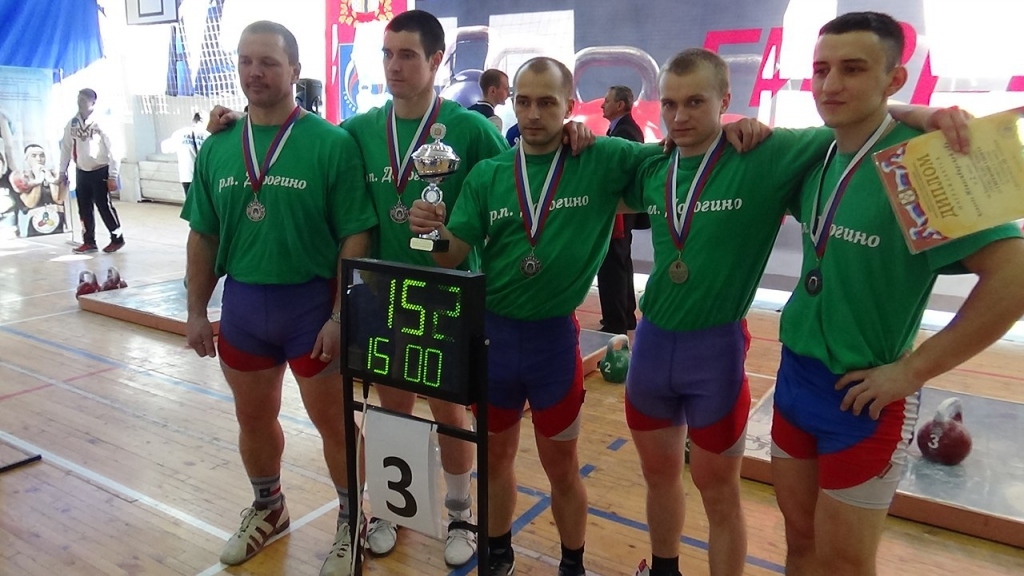Команда Новосибирской области заняла третье место в чемпионате Азиатской зоны России по гиревому спорту