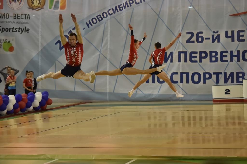 Новосибирские аэробисты вышли в финал Кубка мира в Токио