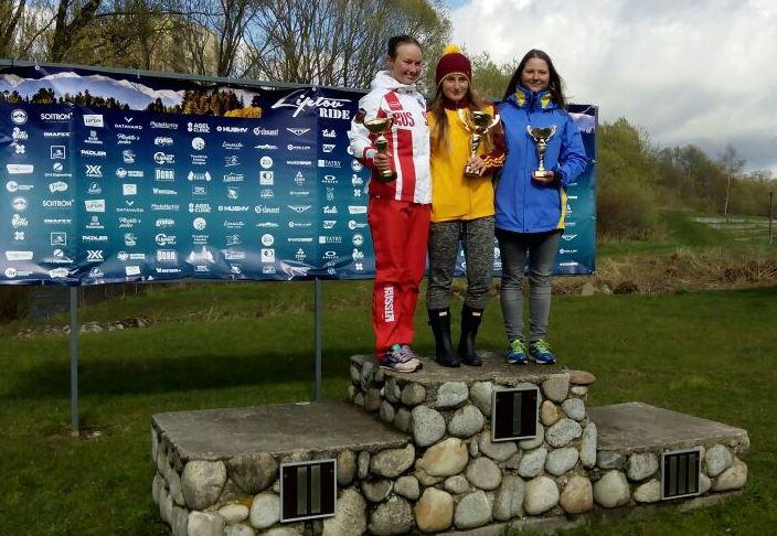 Гребной слалом: Светлана Третьякова завоевала «серебро» в Словакии