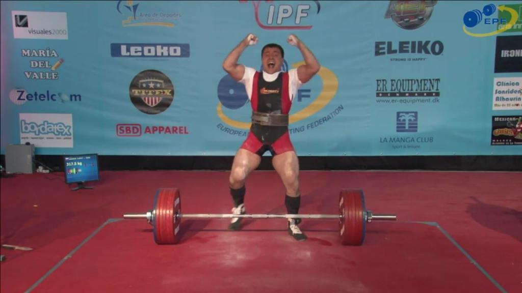 Алексей Сорокин – чемпион Европы по пауэрлифтингу