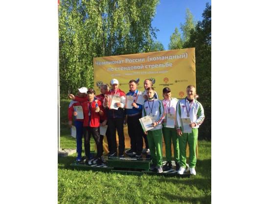 Новосибирские стендовики завоевали серебро на чемпионате России