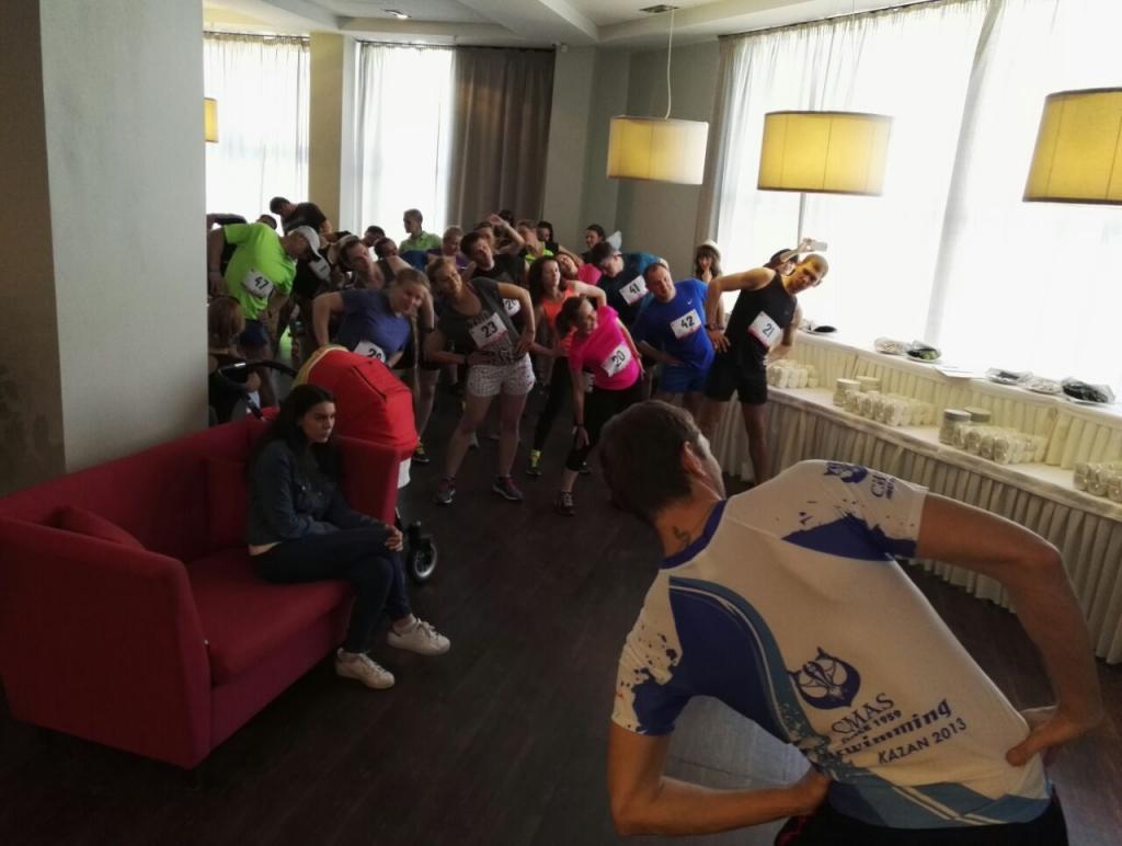 Спортсмены НЦВСМ пробежали вертикальный забег