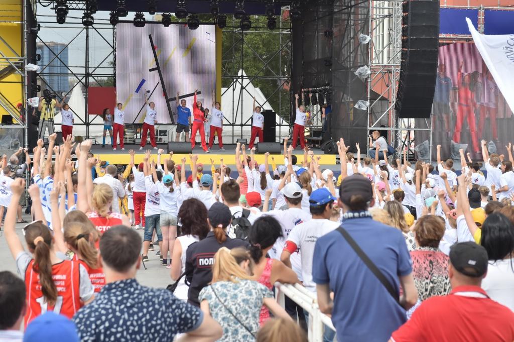 В Новосибирске пройдёт «Зарядка с чемпионами»