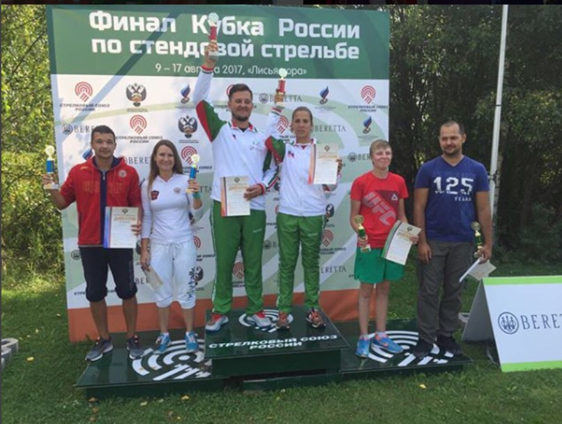 Надежда Коновалова и Михаил Довгаль стали вторыми на Кубке России