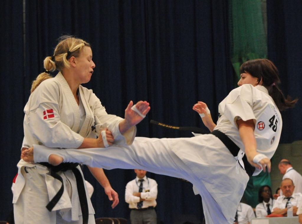 Спортсменка НЦВСМ Мария Панова отобралась на чемпионат мира по киокусинкай